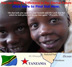 Donate to Make a Difference in Tanzania